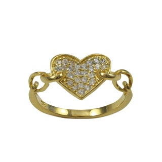 Luxiro Gold Finish Sterling Silver Cubic Zirconia Heart Children's Ring|https://ak1.ostkcdn.com/images/products/11130979/P18131613.jpg?_ostk_perf_=percv&impolicy=medium