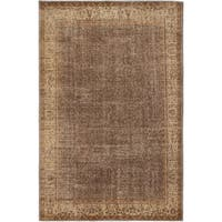 ecarpetgallery Anatolian Sunwash Brown Wool Rug