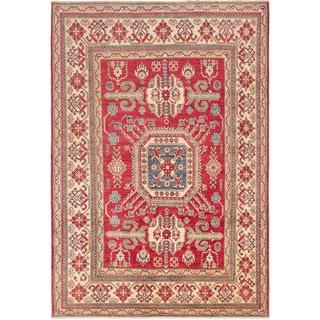 ecarpetgallery Finest Gazni Red Wool Rug (7'5 x 10'8)