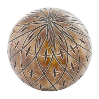 Astro Etched Bone Sphere