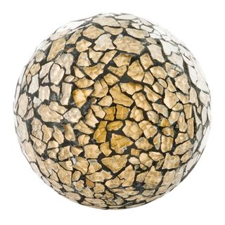 Crepita Gold Glass Sphere