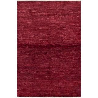 ecarpetgallery Peshawar Ziegler Red Wool Rug (3'10 x 5'10)