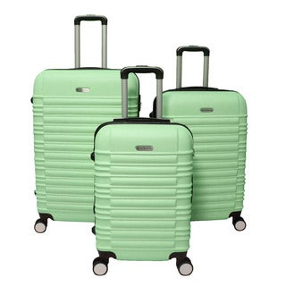 World Traveler California 3-piece Lightweight Hardside Expandable Spinner Luggage Set