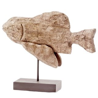 Cincel Chiseled Fish on Stand
