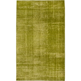ecarpetgallery Color Transition Green Wool Rug (3'10 x 6'5)