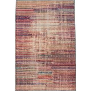 ecarpetgallery Anatolian Sunwash Multi Wool Rug (4'4 x 6'5)