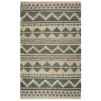 Rizzy Home Whittier Collection WR9627 Accent Rug - Sage - 8' x 10'