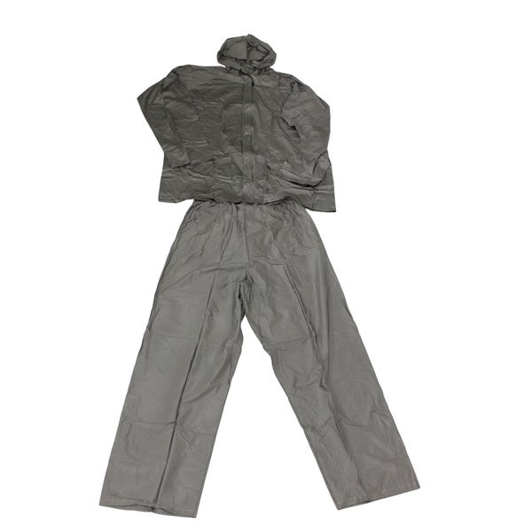 Ultimate Survival Technologies Grey Adult All-Weather Rain Suit Large