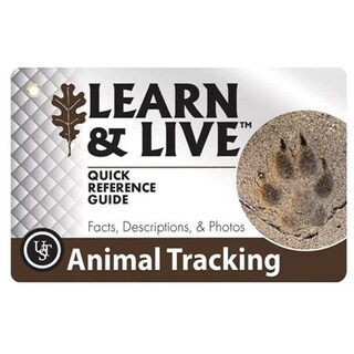 Ultimate Survival Technologies Learn and Live Cards Animal Tracks Learn and Live Cards Animal Tracks
