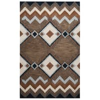 Pueblo Collection TL9147 Area Rug (9' x 12') - 9' x 12'