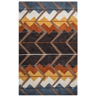 Rizzy Home Tumble Weed Loft Collection TL9150 Area Rug (9' x 12')