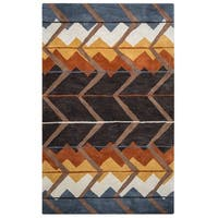 Rizzy Home Tumble Weed Loft Collection TL9150 Area Rug - 9' x 12'