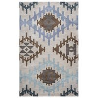 Rizzy Home Tumble Weed Loft Collection TL9152 Area Rug - Multi-color - 9' x 12'
