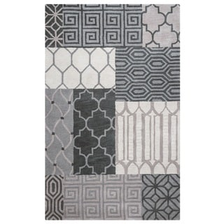 Rizzy Home Palmer Collection Multicolored Area Rug (8' x 10')