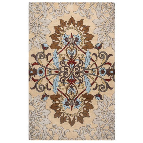 Rizzy Home Palmer Collection Area Rug (9' x 12') - 9' x 12'
