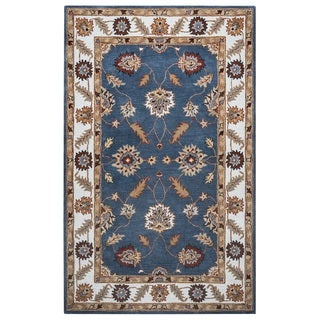 Rizzy Home Palmer Collection Multicolored Area Rug (9' x 12')