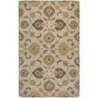Rizzy Home Valintino Collection Tan/ Rust Area Rug - 8' x 10'
