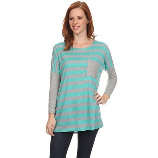 MOA Collection Women's Striped Top