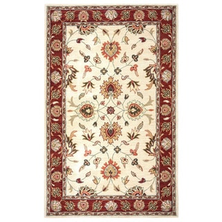 Rizzy Home Valintino Collection Beige/ Rust Area Rug (8' x 10')
