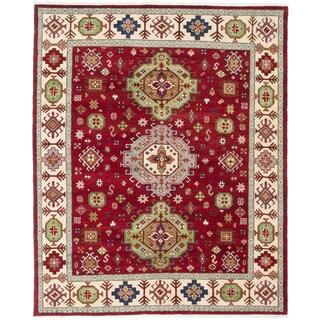 ecarpetgallery Royal Kazak Red Wool Rug (8'1 x 9'10)