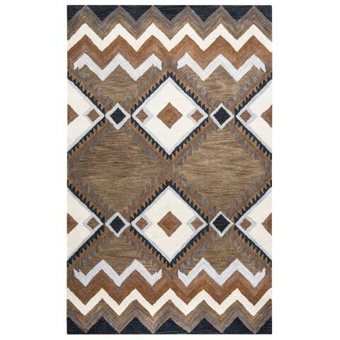 Pueblo Collection TL9147 Accent Rug (3' x 5') - 3' x 5'