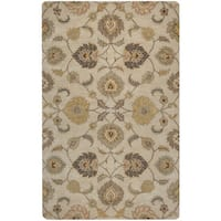 Rizzy Home Valintino Collection Tan/ Rust Area Rug - 9' x 12'