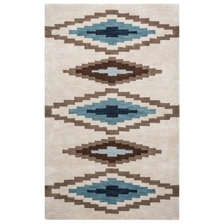 Rizzy Home Tumble Weed Loft Collection TL9056 Accent Rug (3' x 5')
