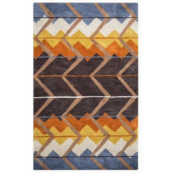 Pueblo Collection TL9150 Accent Rug (3' x 5') - 3' x 5'