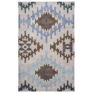 Rizzy Home Tumble Weed Loft Collection TL9152 Accent Rug (3' x 5')