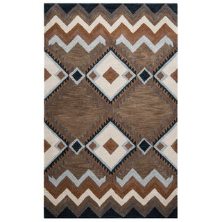 Rizzy Home Tumble Weed Loft Collection TL9147 Area Rug (8' x 10')