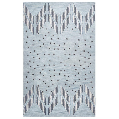Rizzy Home Tumble Weed Loft Collection TL9249 Area Rug (8' x 10') - 8' x 10'