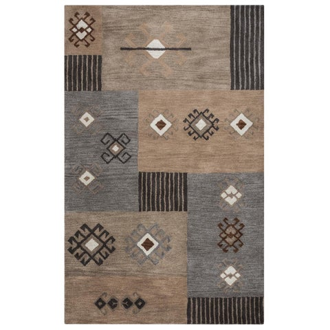 Rizzy Home Tumble Weed Loft Collection TL9251 Area Rug (8' x 10') - 8' x 10'