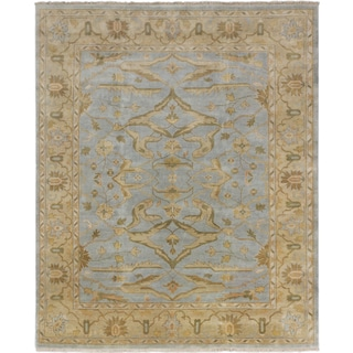 ecarpetgallery Royal Ushak Blue Wool Rug (8'3 x 10'0)