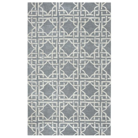 Rizzy Home Valintino Collection VN9688 Area Rug (9' x 12') - 9' x 12'