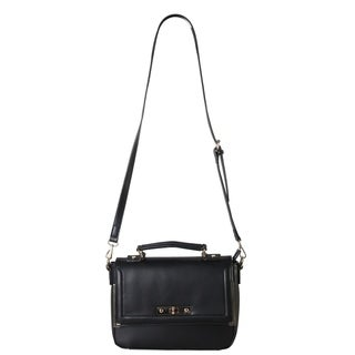 Link to Diophy Faux Leather Structured Snakeskin Texture Turn-lock Crossbody Satchel Similar Items in Shop By Style