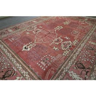 H9408 Wool Peshawar Chobi Oriental Hand-knotted Rug (10' x 14')