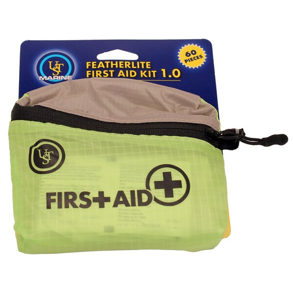 Ultimate Survival Technologies Lime FeatherLite Marine First Aid Kit 1.0