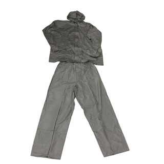 Ultimate Survival Technologies Grey Adult All-Weather Rain Suit Medium