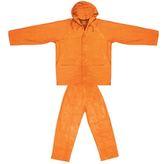 Ultimate Survival Technologies Orange Youth All-Weather Rain Suit Large/X-Large
