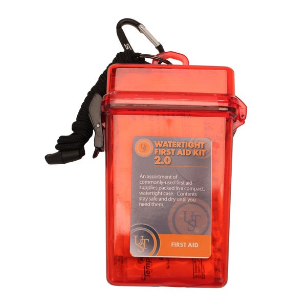 Ultimate Survival Technologies Red Watertight First Aid Kit 2.0