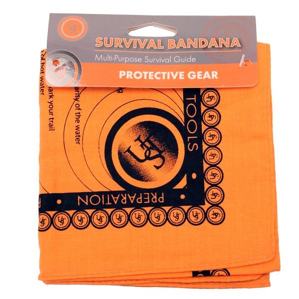 Ultimate Survival Technologies Orange Survival Bandana