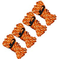 Ultimate Survival Technologies 4 Pack Guy Line Reflective