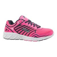 Women's Fila Gamble Running Shoe Knockout Pink/Fila Navy/White