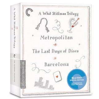 A Whit Stillman Trilogy: Metropolitan, Barcelona, The Last Days of Disco Box Set (Blu-ray Disc)