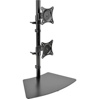 Tripp Lite Dual Vertical Flat-Screen Desk Mount Monitor Stand Clamp S