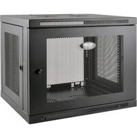 Tripp Lite 9U Wall Mount Rack Enclosure Server Cabinet Low Profile De