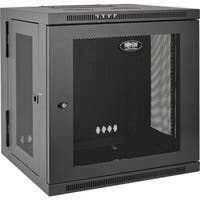 Tripp Lite 12U Wall Mount Rack Enclosure Server Cabinet Swinging Hing