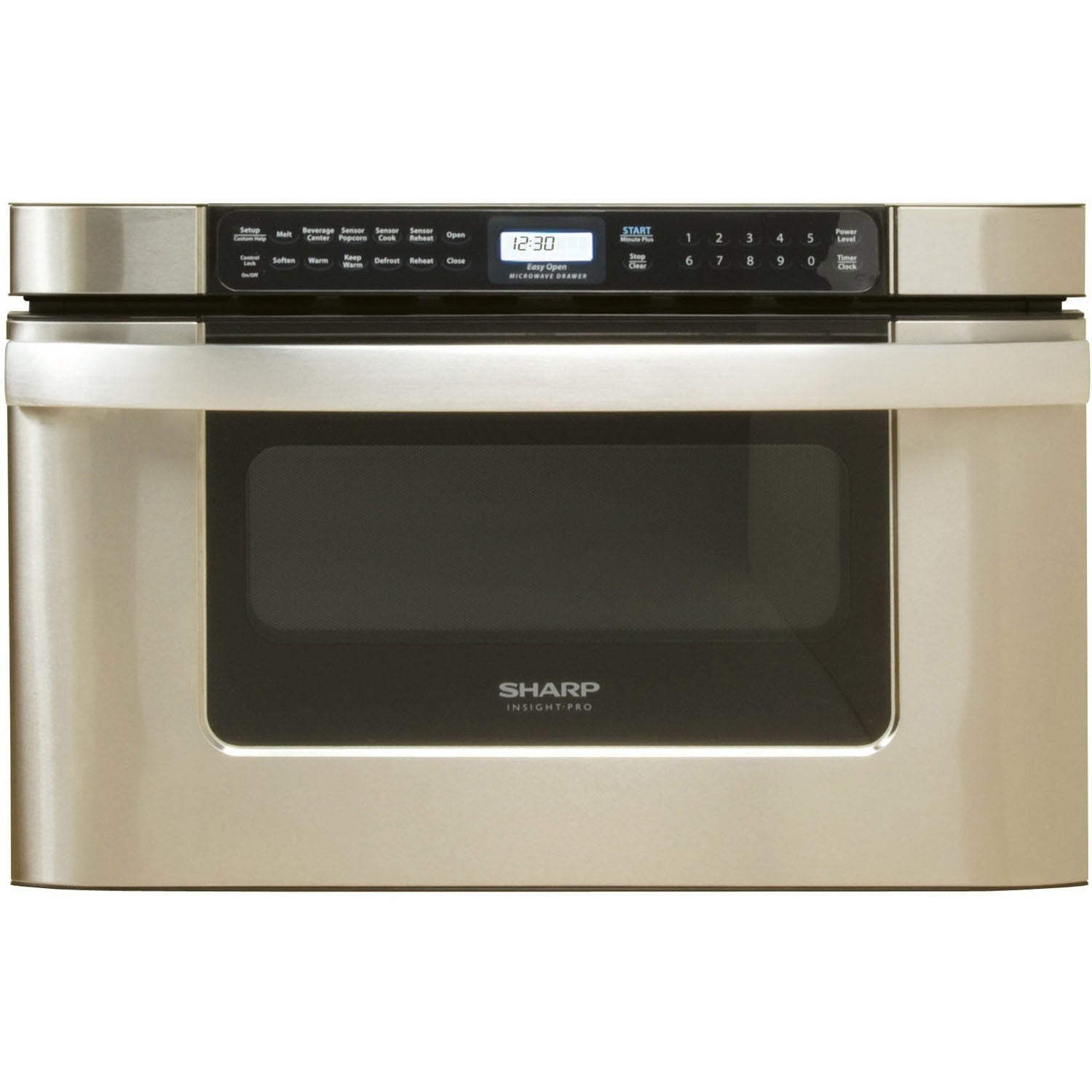 Sharp Insight Pro Series Built-In Microwave Drawer 24 inc...