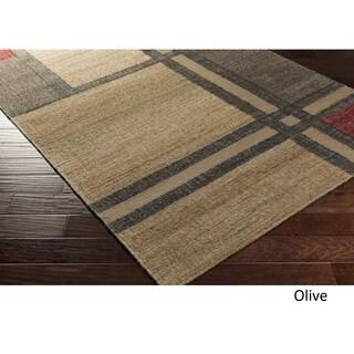 Hand Woven Delaware Jute/Viscose Rug (5' x 7'6)