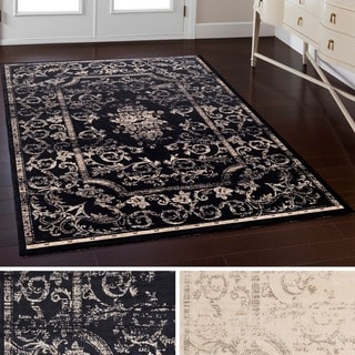 Machine Made Depot Viscose Rug (5'1 x 7'6)